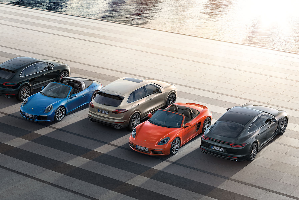 Pay A Monthly Fee To Drive 22 Different Porsches