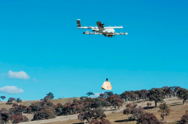 Alphabet's Drones In Australia Are Now Making Food Deliveries