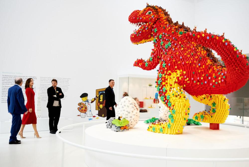the LEGO House opening denmark 1