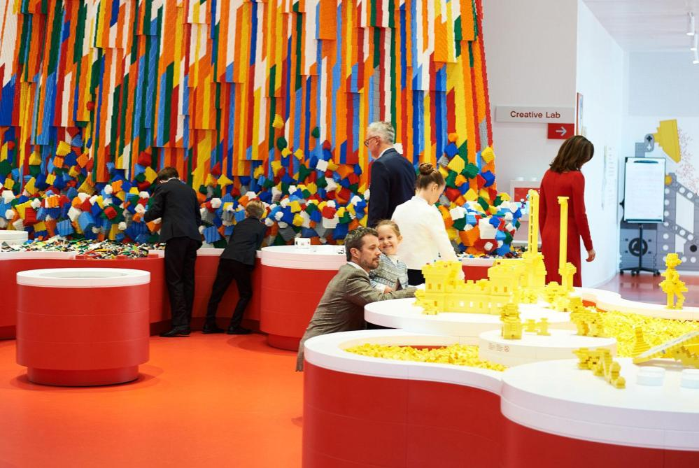 the LEGO House opening denmark 3