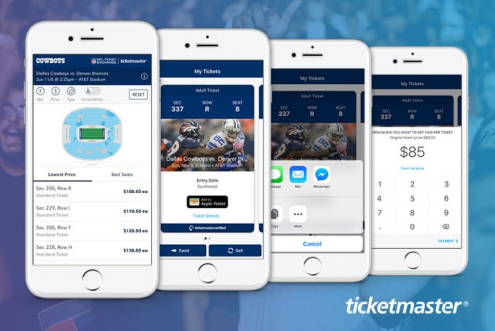Ticketmaster Is Offering NFL Fans A Fully Digital Ticketing System
