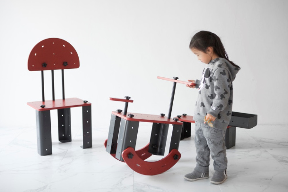Toy Kit Lets Kids Build Their Own Furniture