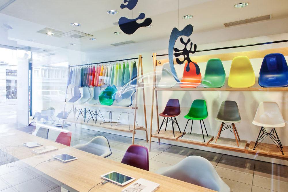 Pop-Up Shops Celebrate The Ubiquitous Eames Plastic Chair