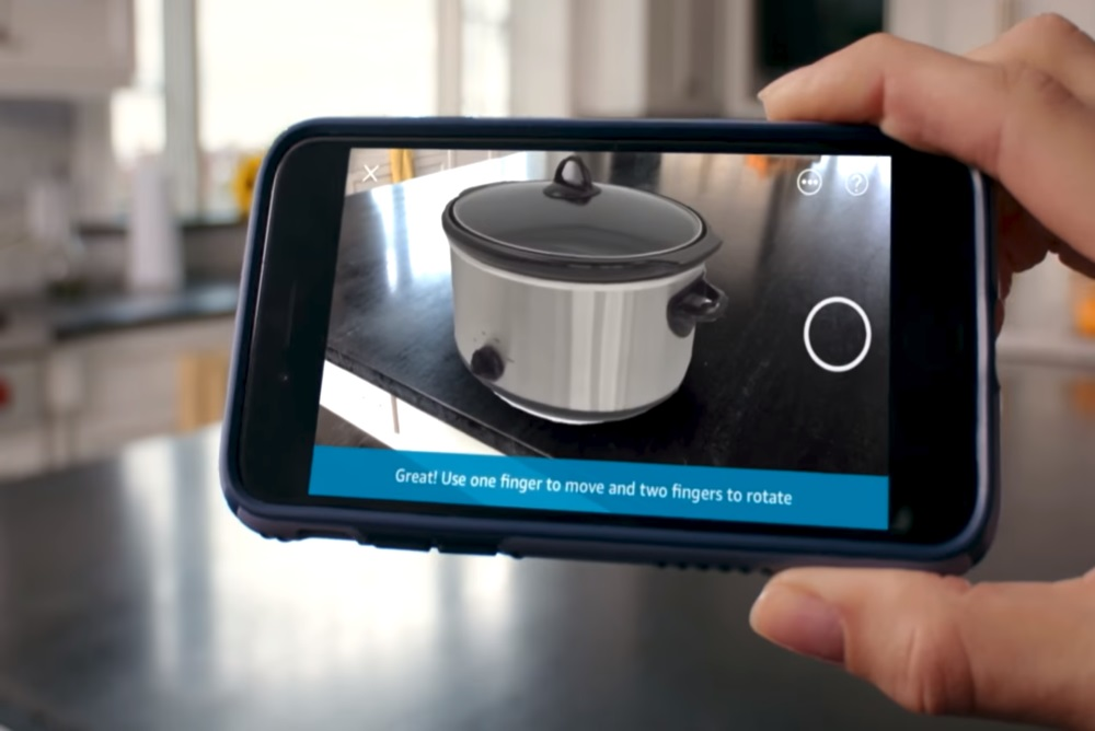 Amazon Is Using AR To Help People See Before They Buy