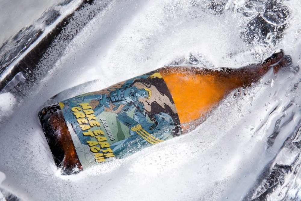 Brewery Designed Beer To Remind Leaders To Prioritize Climate Change
