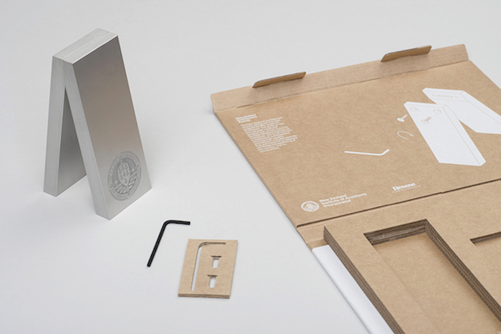 Flat-Packed Design Trophy Needs To Be Assembled By The Winner