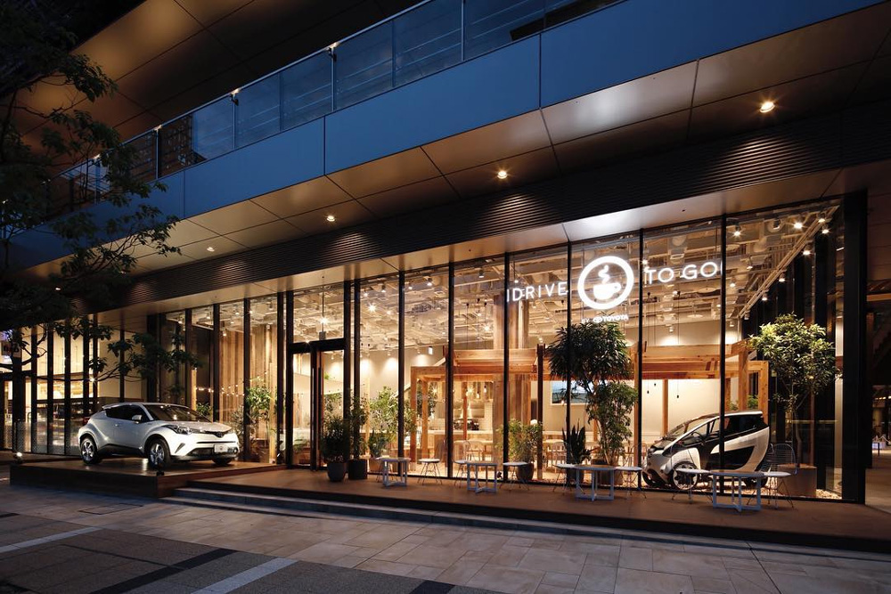 Toyota's New Concept Store In Japan Is A Cafe And Car Share
