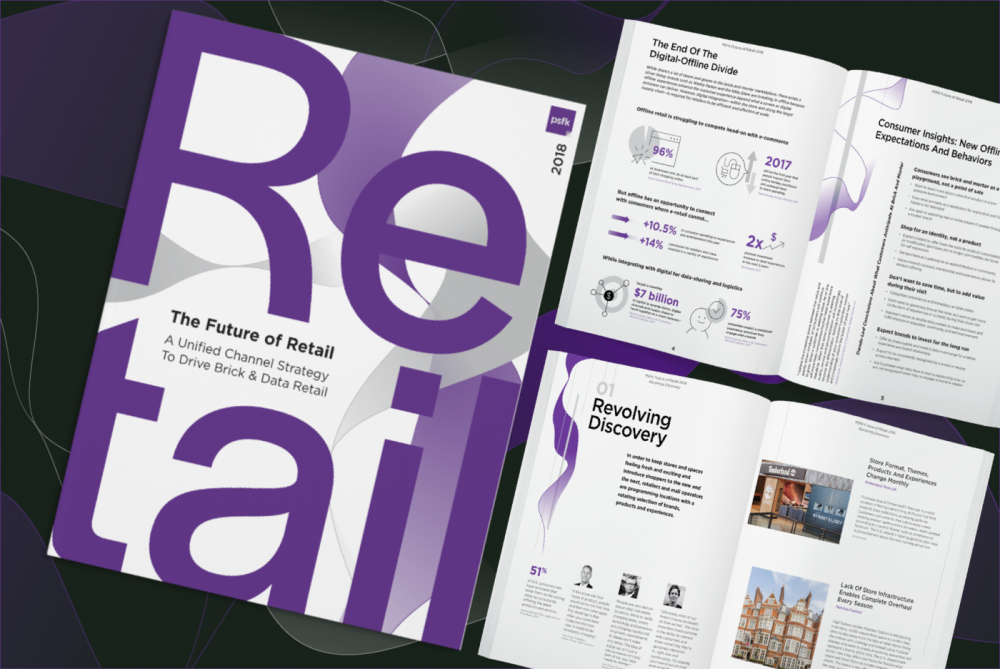 PSFK Launches The Future Of Retail 2018
