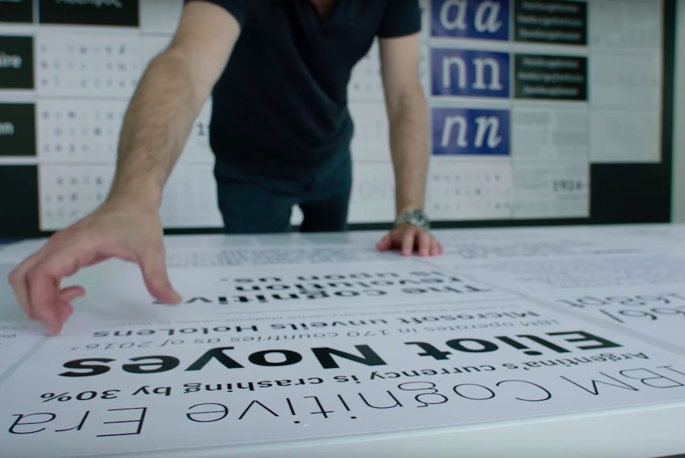 IBM Is Designing A New Typeface To Demonstrate The Brand's Values