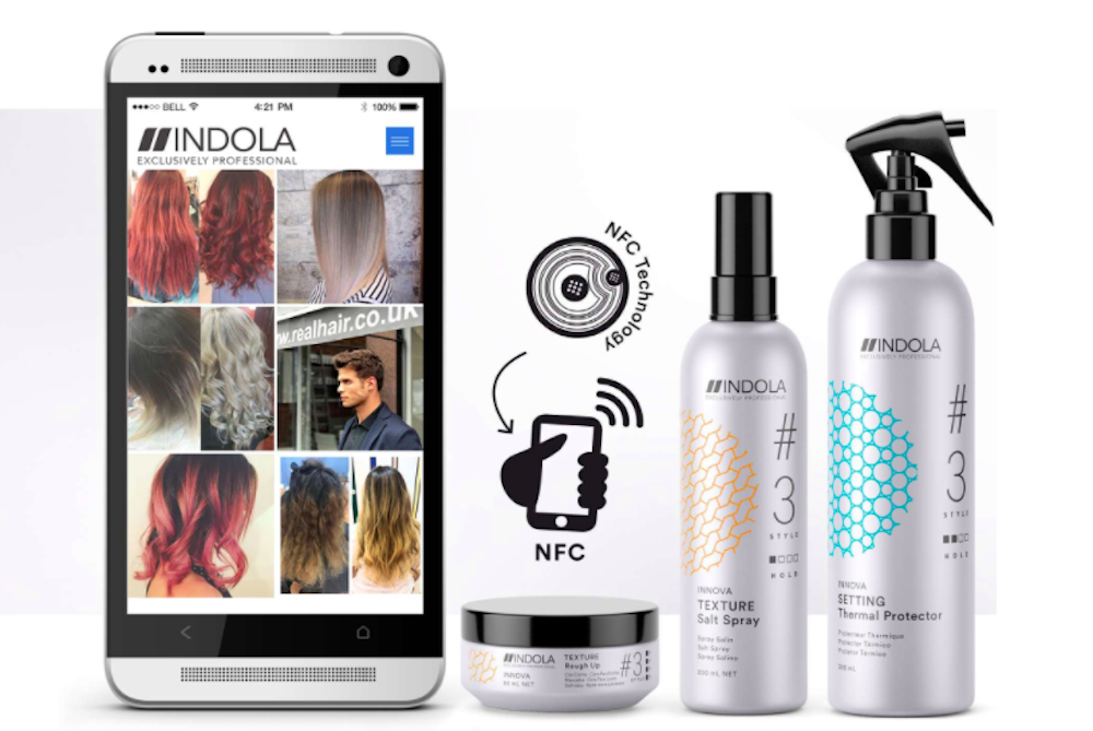 NFC-Enabled Packaging For Beauty Products Inspires New Looks