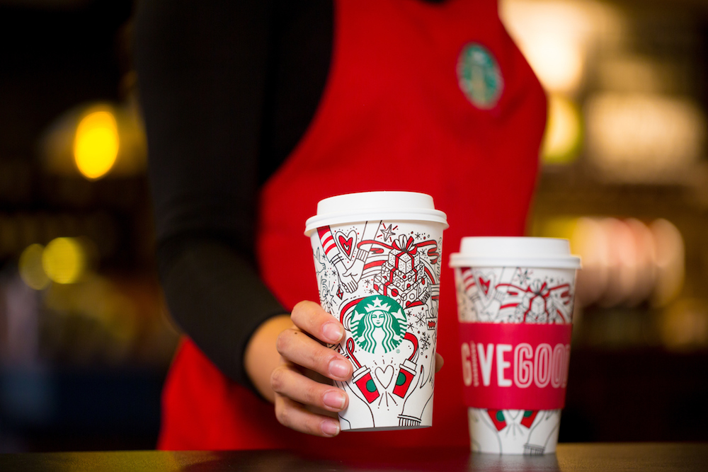Starbucks Holiday Cups Are Going DIY
