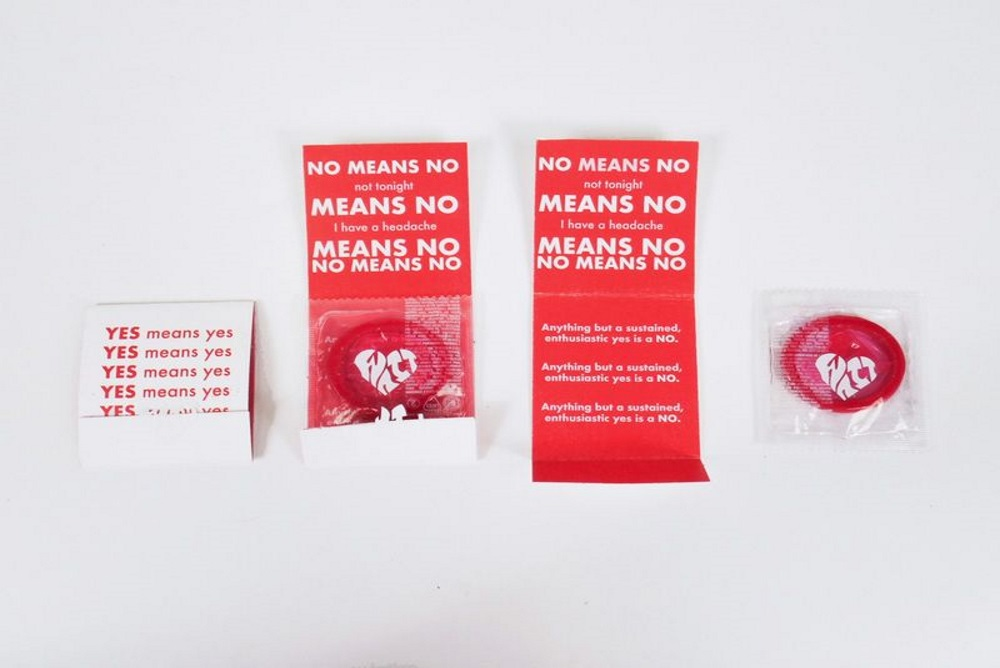 Condoms Redesigned To Promote Consent