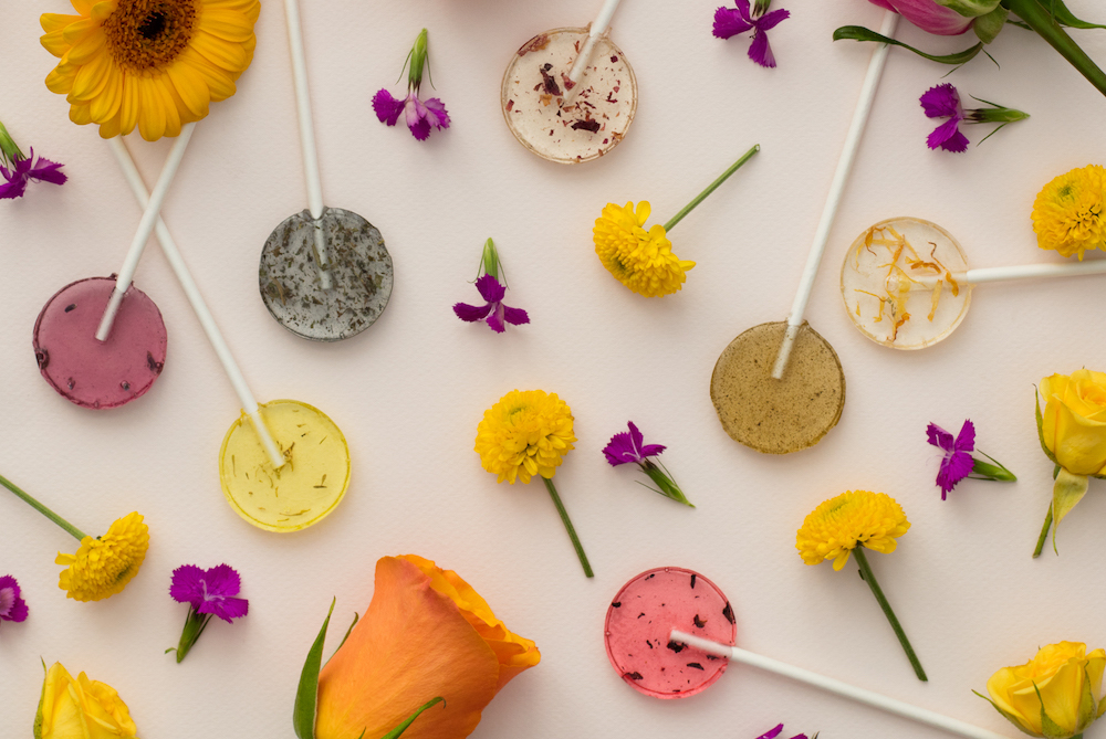 Flower Lollipops Are Designed To Be Planted After You Eat Them