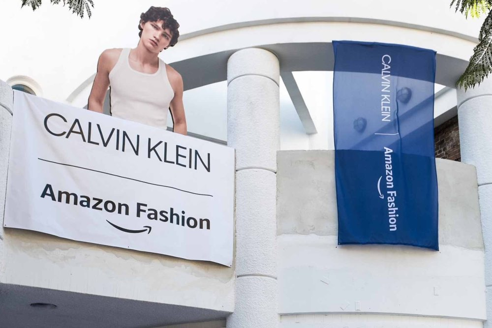 Amazon And Calvin Klein Team Up For Holiday Retail Experience