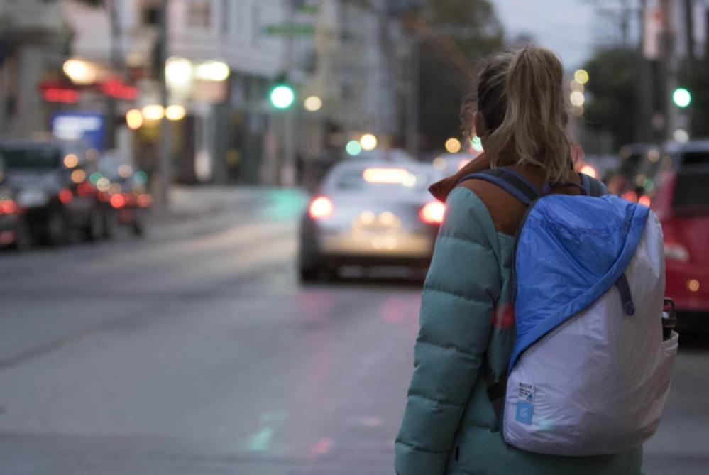 Yves Behar Designed A Backpack To Separate Dirty Gym Clothes And Your Laptop