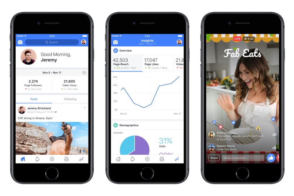 Facebook Launches Suite of Tools for Content Creators