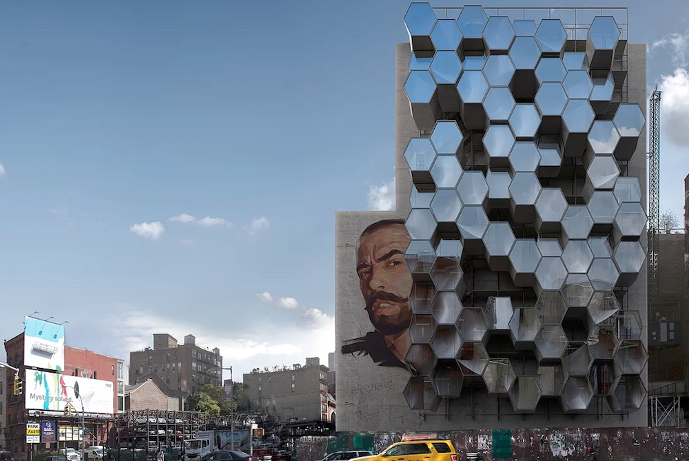 3D-Printed Pods Provide Housing For NYC's Homeless In This Concept