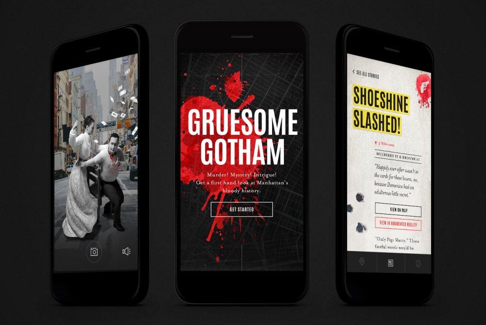 AR Halloween App Lets Users Explore Historical Manhattan Murders
