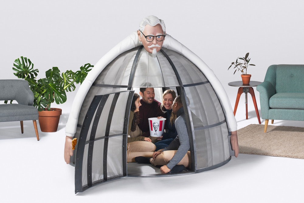 KFC Is Selling A $10,000 'Escape Pod' To Save You From Technology