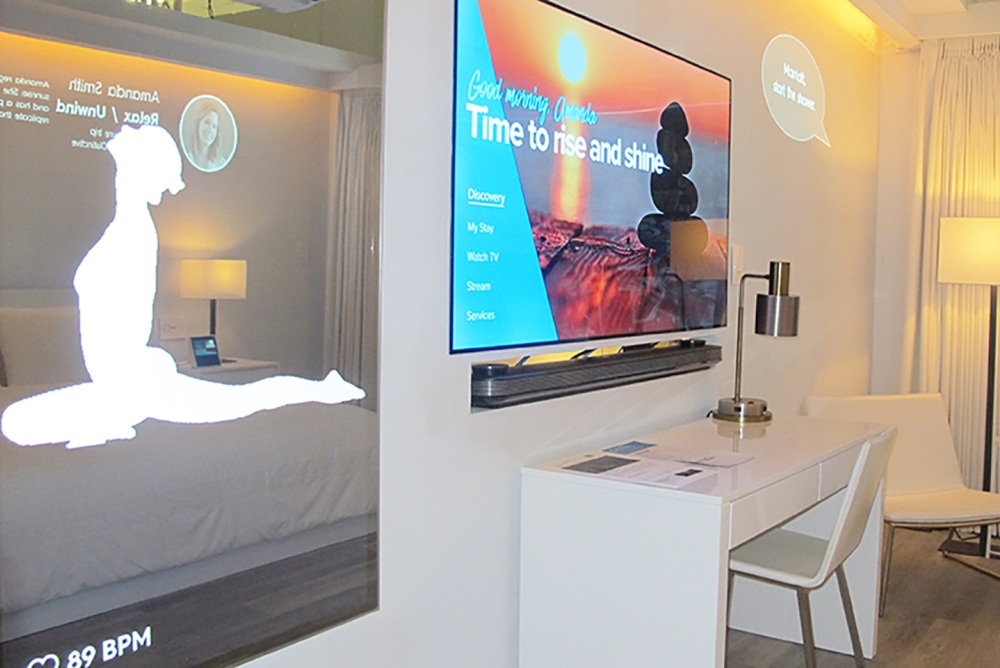 Marriott Unveiled A Futuristic Vision For An IoT Hotel Room