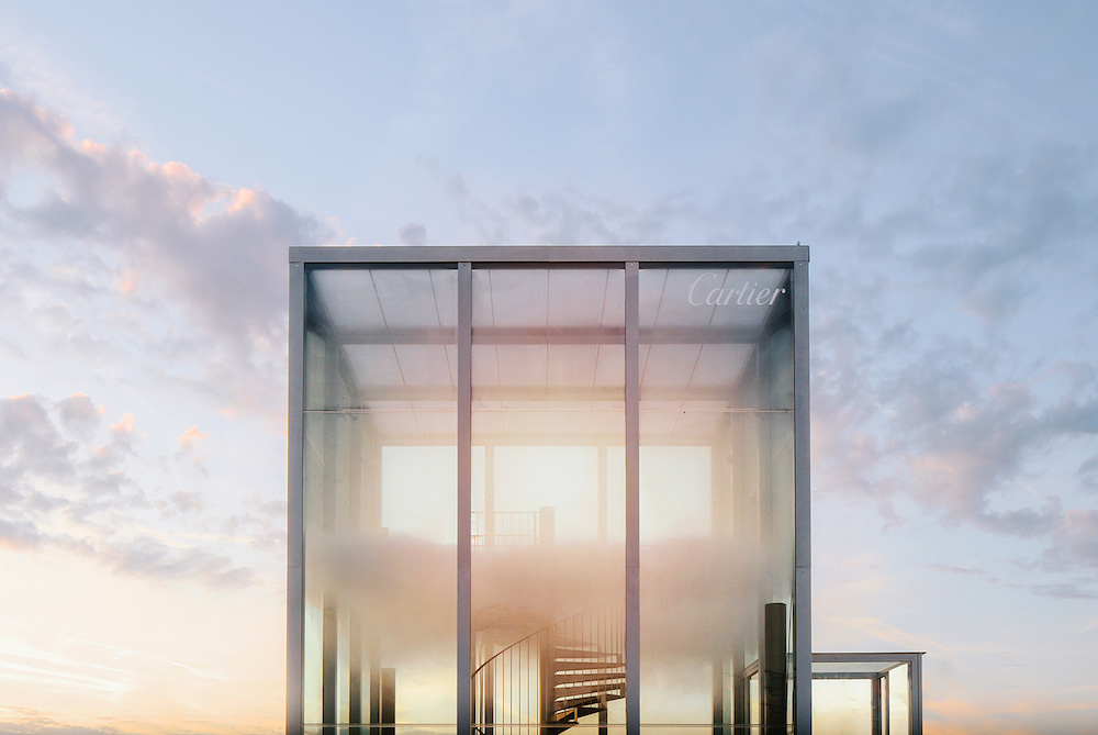 Cartier's Olfactory Art Installation Imagines The Scent Of The Sky