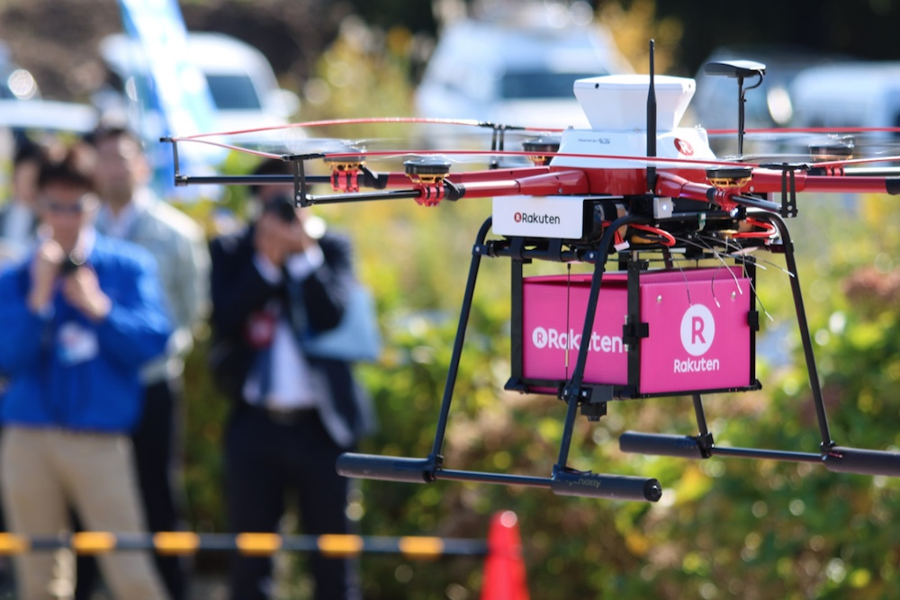 Japanese Retailer Is Using Drones To Make Deliveries To Fukushima