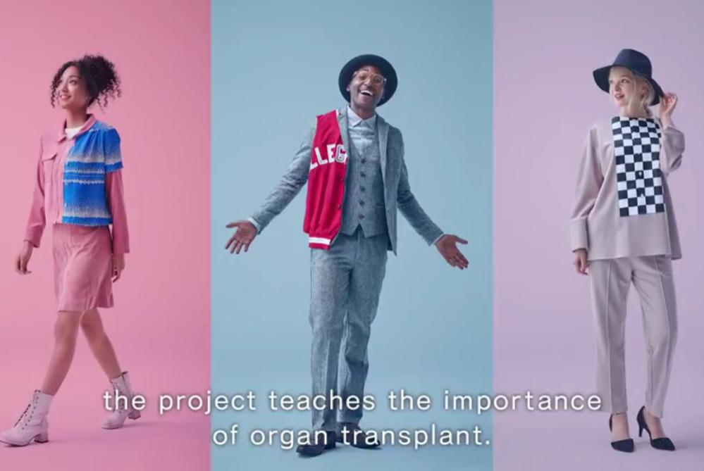"Clothing ""Transplants"" Promote Organ Donations in Japan"