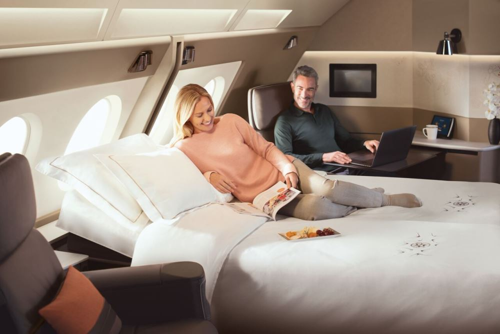 Singapore Airlines Takes Hotel Rooms To The Sky