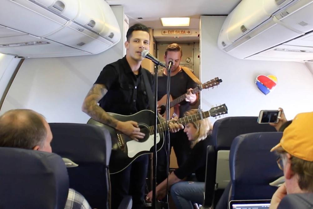 Southwest Airlines Hosts Pop-Up Concerts Mid-Flight