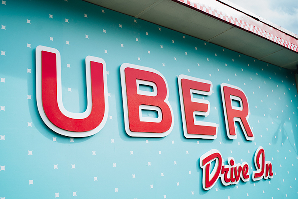 Uber Opens Pop-Up Drive-In Movie Theaters For Drivers