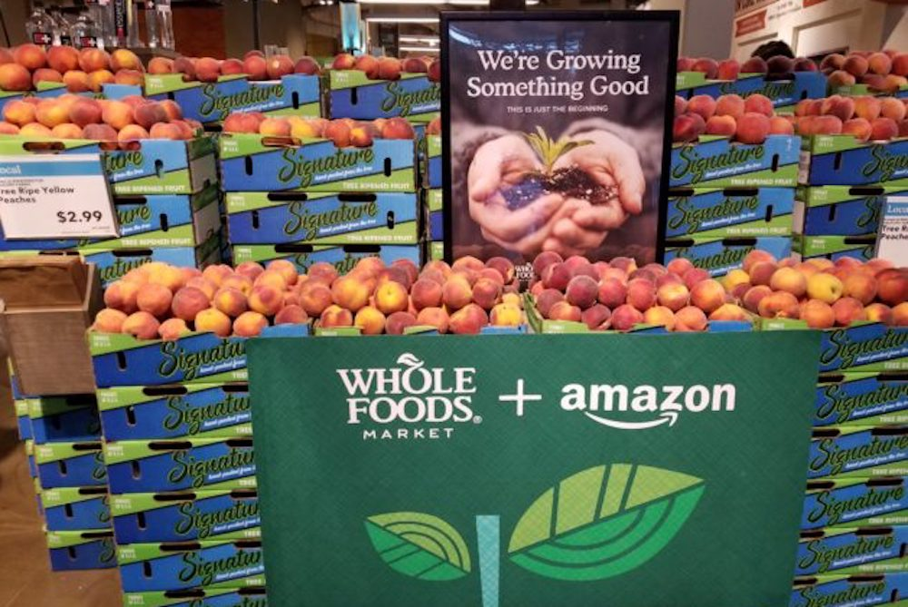 Amazon Is Setting Up Pop-Up Stores In Select Whole Foods Locations