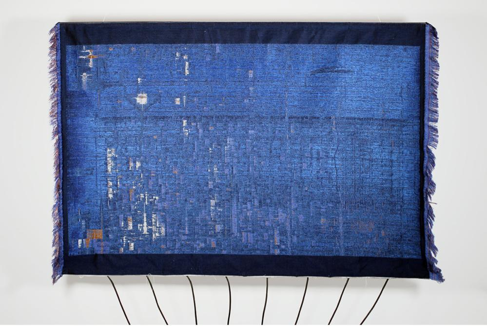 Wall Tapestry Transforms Wi-Fi Signals Into A Work Of Art