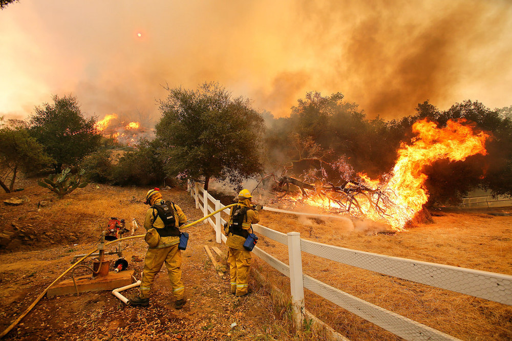 How Snapchat Is Being Used To Map The Southern California Wildfires