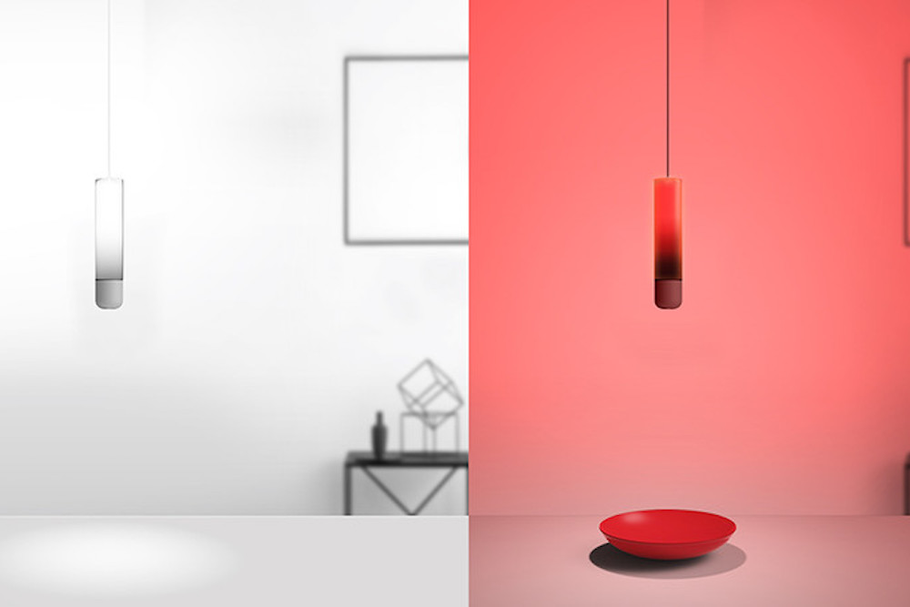 This Hanging Lamp Changes Color To Match Any Room