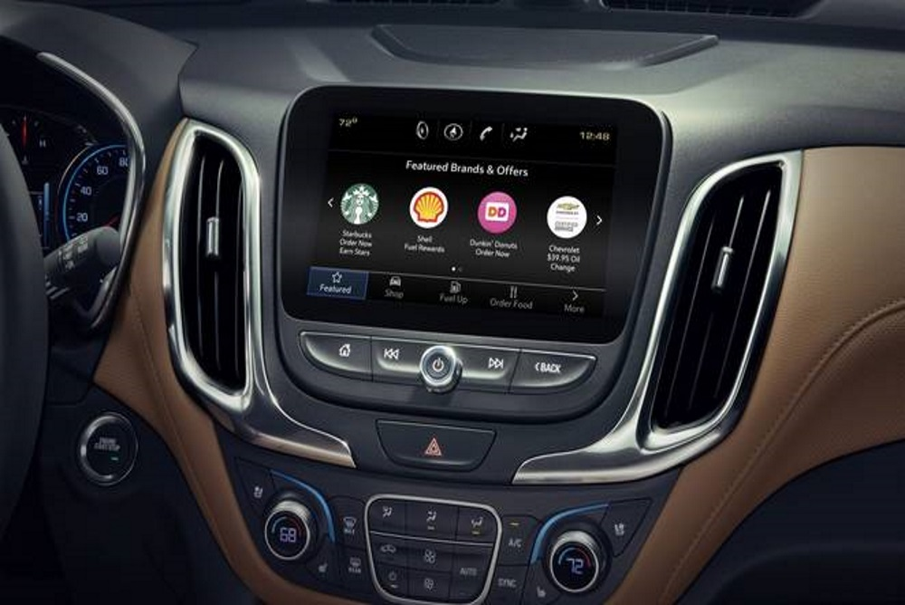 GM Marketplace Lets Drivers Order Dinner From The Dashboard Of Their Car
