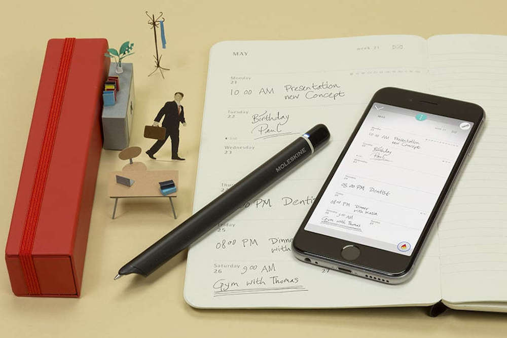 Moleskine's Connected Pen Transfers Notes From Page To Screen