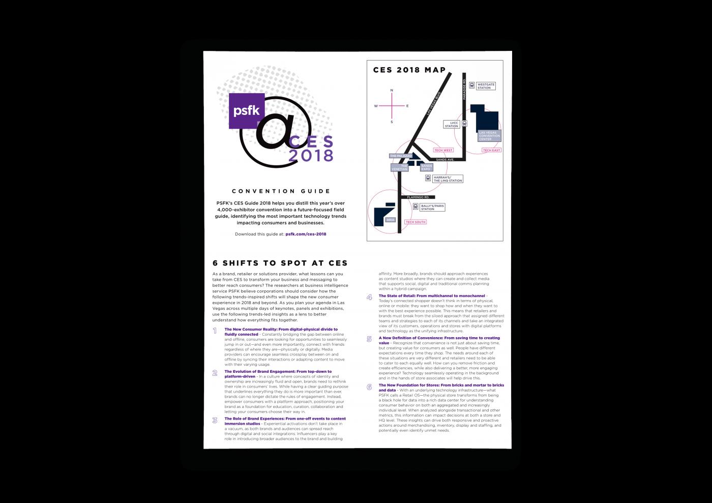 CES 2018 Guide
