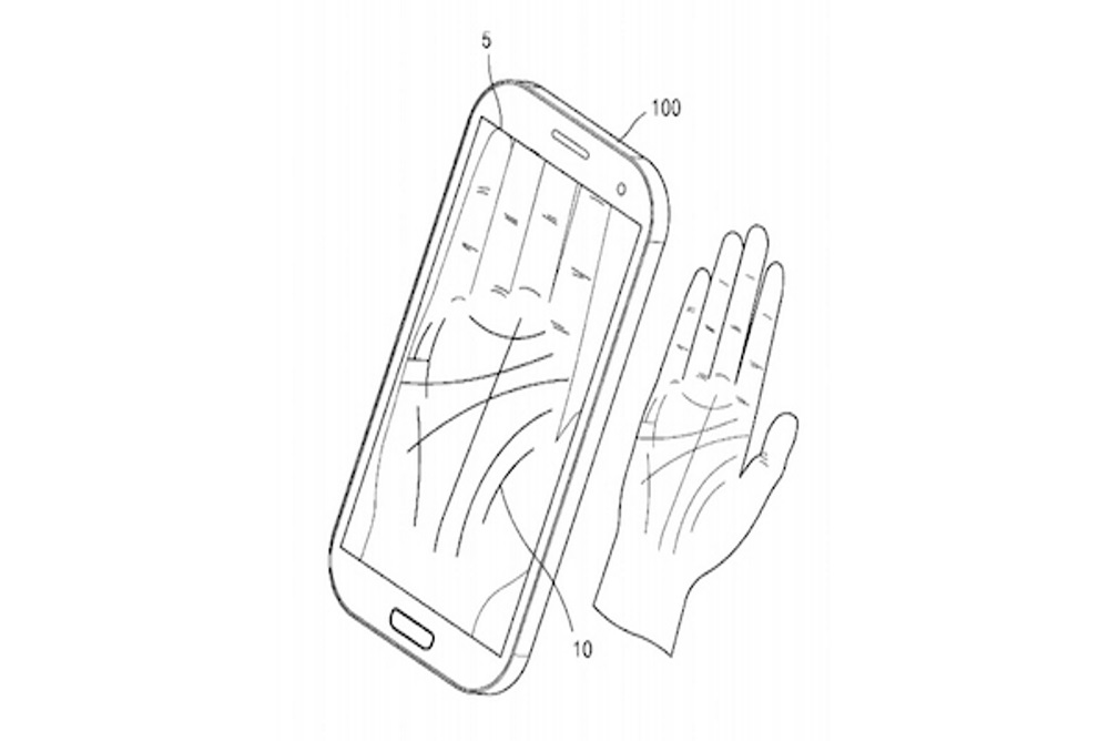 Samsung Wants People To Uncover Forgotten Passwords With Their Palm