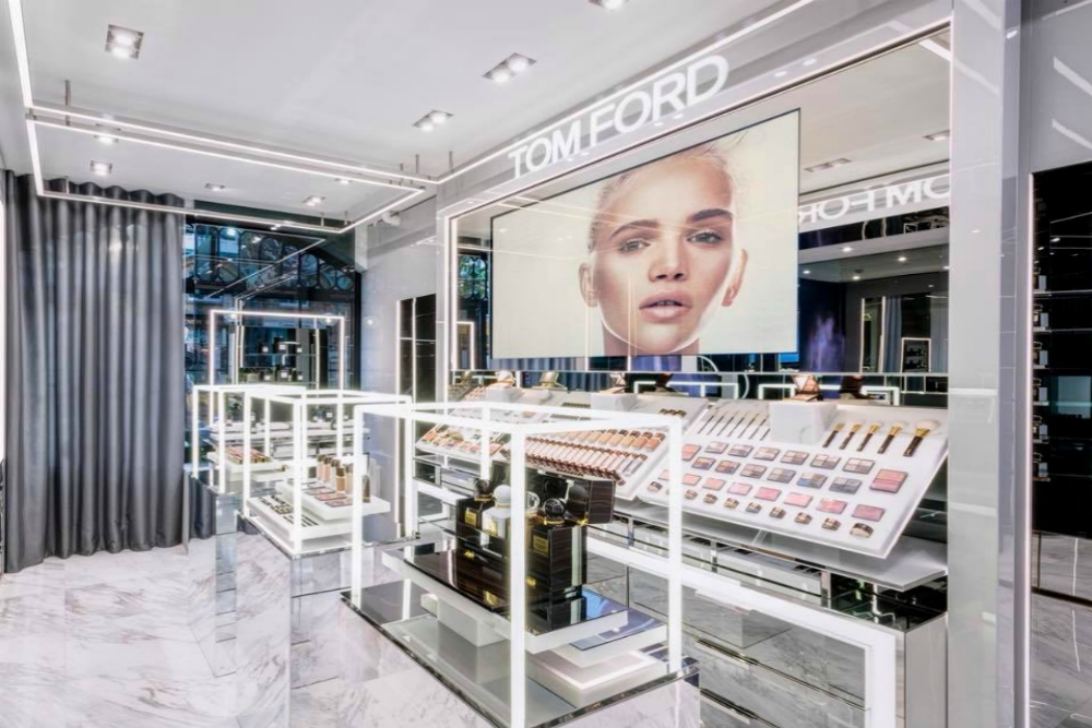 Tom Ford's New Standalone Store Combines Digital Content And Beauty