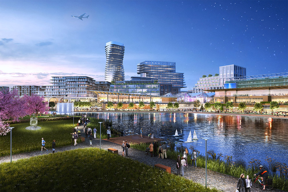 A Former Navy Airfield Near Boston Will Be Turned Into A Smart City