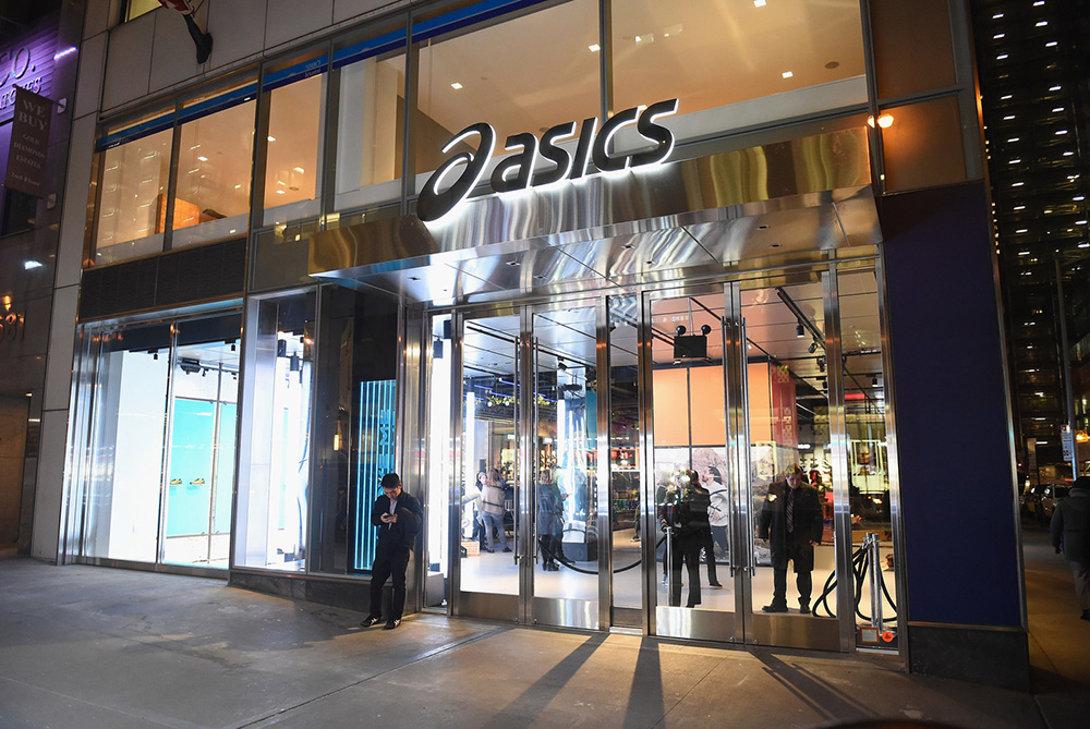ASICS Has Unveiled A New Identity In The Opening Of Its NYC Flagship Store