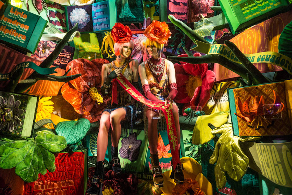 NYC Retail's Best Holiday Windows Of 2017