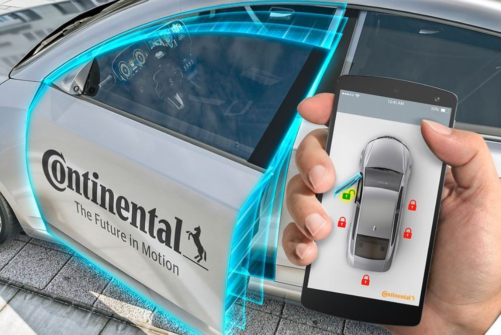 Continental And Avis Turn Renters' Phones Into Keyless Entry Devices