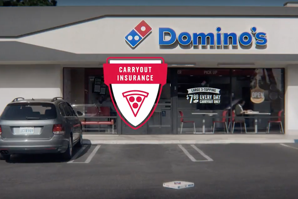 """Domino's Now """"Insures"""" Pizza Purchases Against Accidents"""