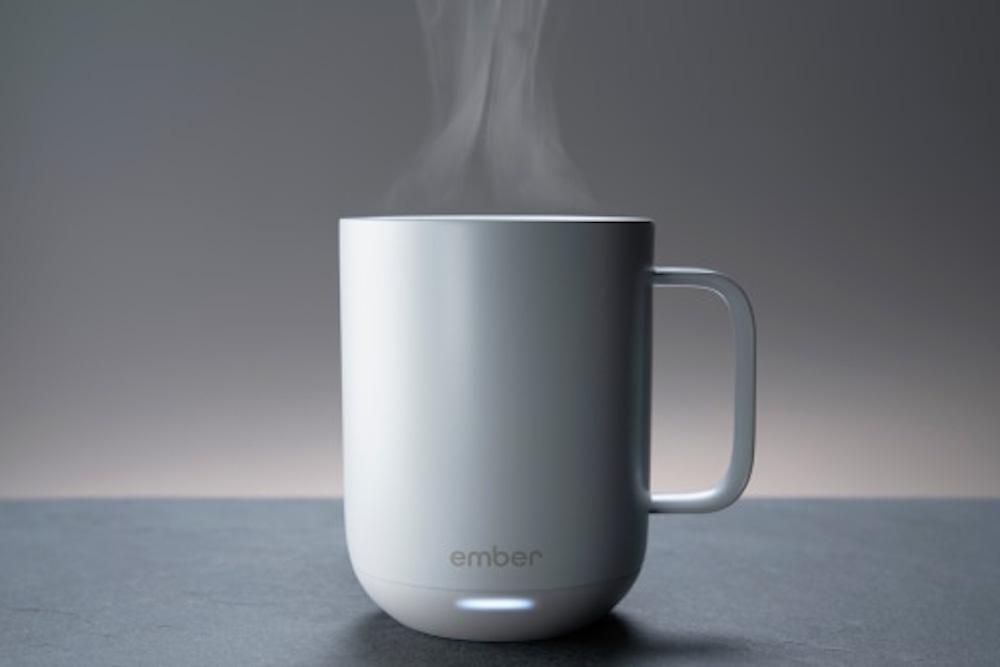 Bluetooth-Enabled Ceramic Mug Keeps Coffee Just How You Like It