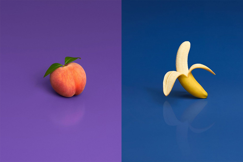 Real Fruits Are Styled As Emojis In These Playful Photos