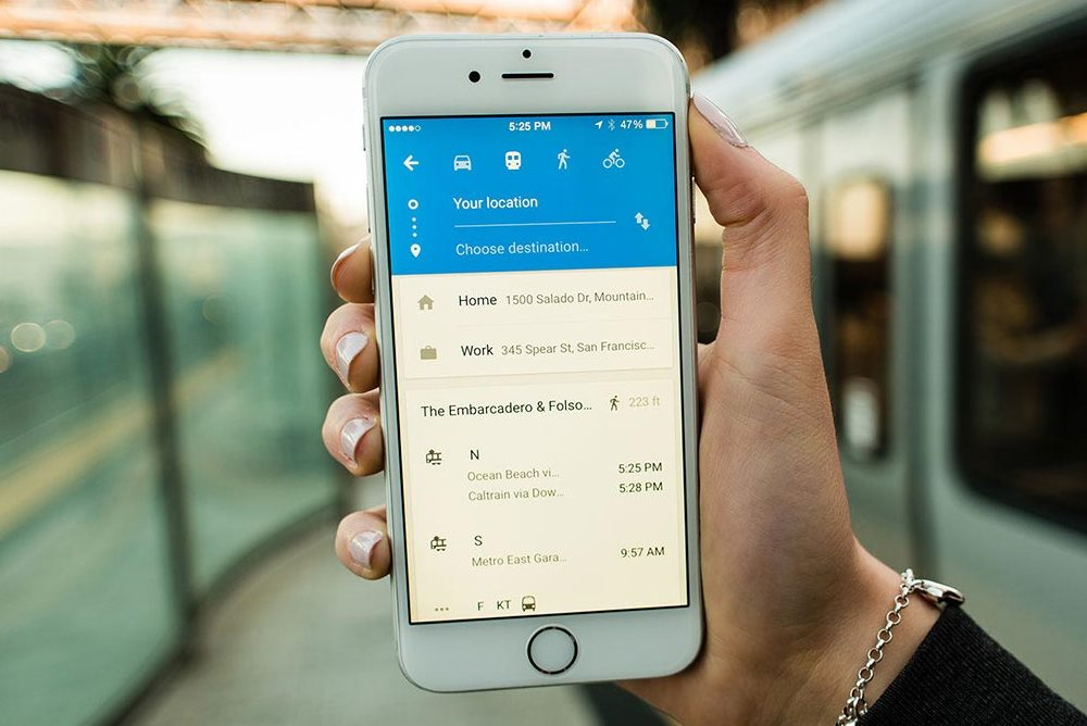 Google Maps Alerts Bus Riders So They Don't Miss Their Stop