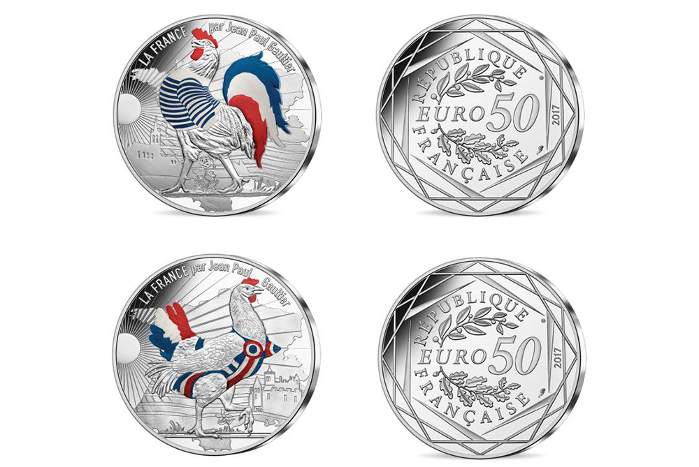 Jean-Paul Gaultier Designs Limited Edition Euro Coins