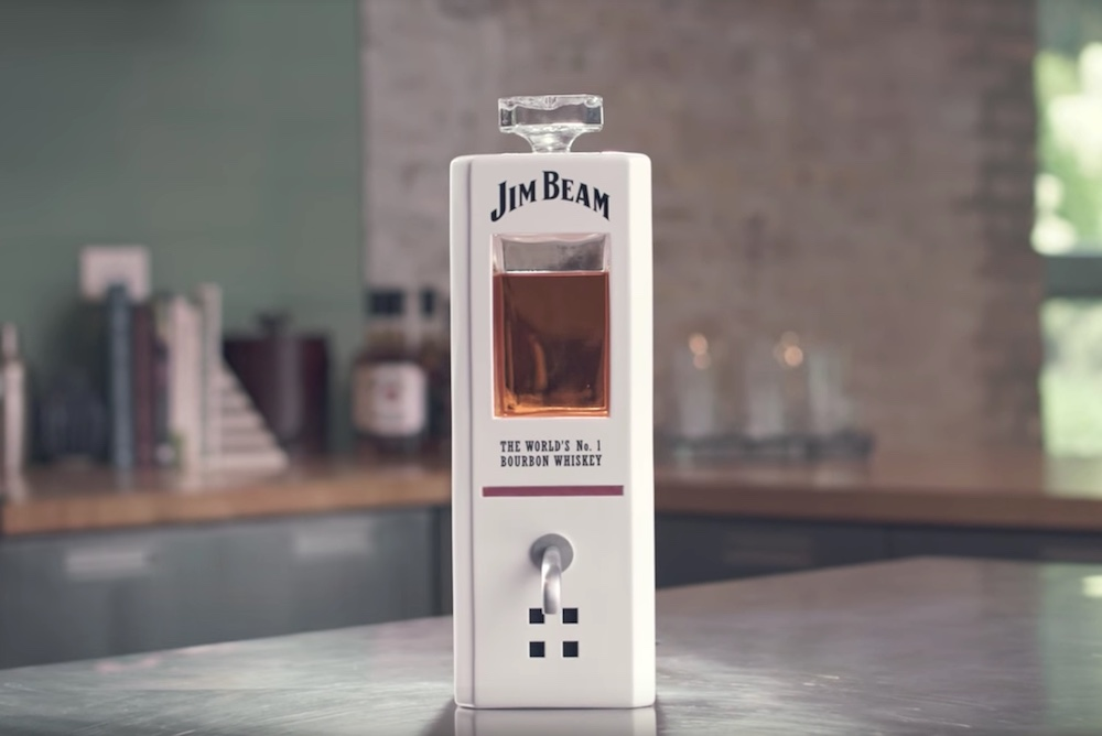 Jim Beam Created A Decanter That Pours Whiskey On Command