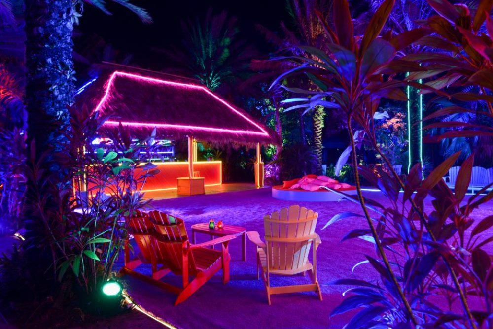 Three-Night-Only Prada Club In Miami Has Two Opposing Themes
